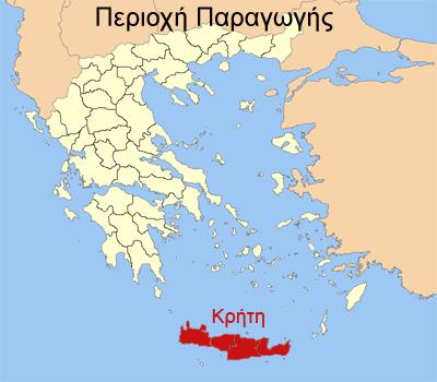Χάρτης Κρήτη