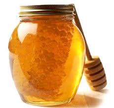 Honig mit Waben