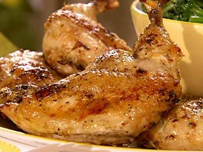 Κοτόπουλο λεμονάτο με ρίγανη