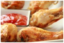 Σάλτσα με ψητά κοτόπουλα